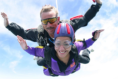 Sky Dive - Be a Daredevil!